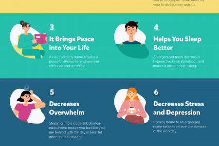 11 Benefits of Being Organized Infographic