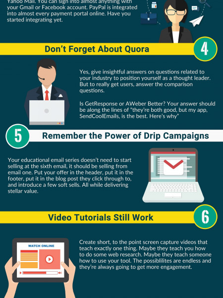 11 Growth Hacking Tactics You Can Start Using Today Infographic