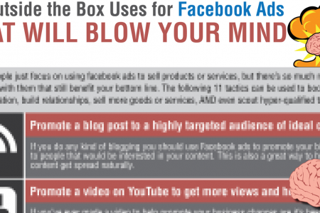 11 Outside the Box Uses for Facebook Ads That Will Blow Your Mind Infographic