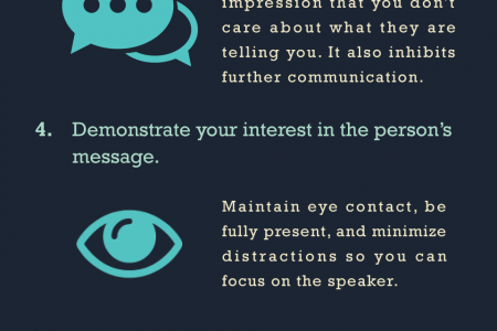 11 Powerful Tactics You Need to Improve Your Listening Skills Infographic