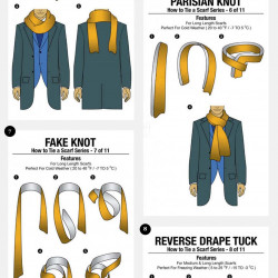11 simple ways to tie a scarf visual ccuart Choice Image