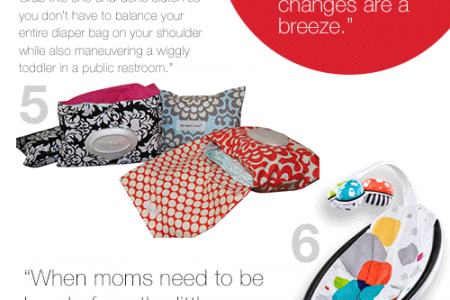 11 Time Saving Must-Haves for New Moms Infographic