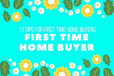 11 Tips To Buy First Time Home  Infographic