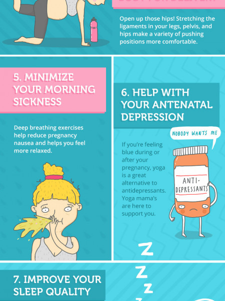 12 Benefits of Prenatal Yoga That Make You A Supermom! Infographic
