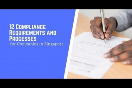 12 Compliance Requirements and Processes for Companies in Singapore Infographic