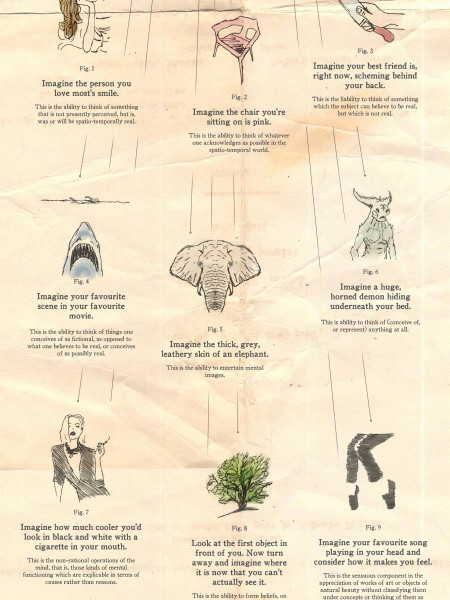 12 Conceptions of Imagination Infographic