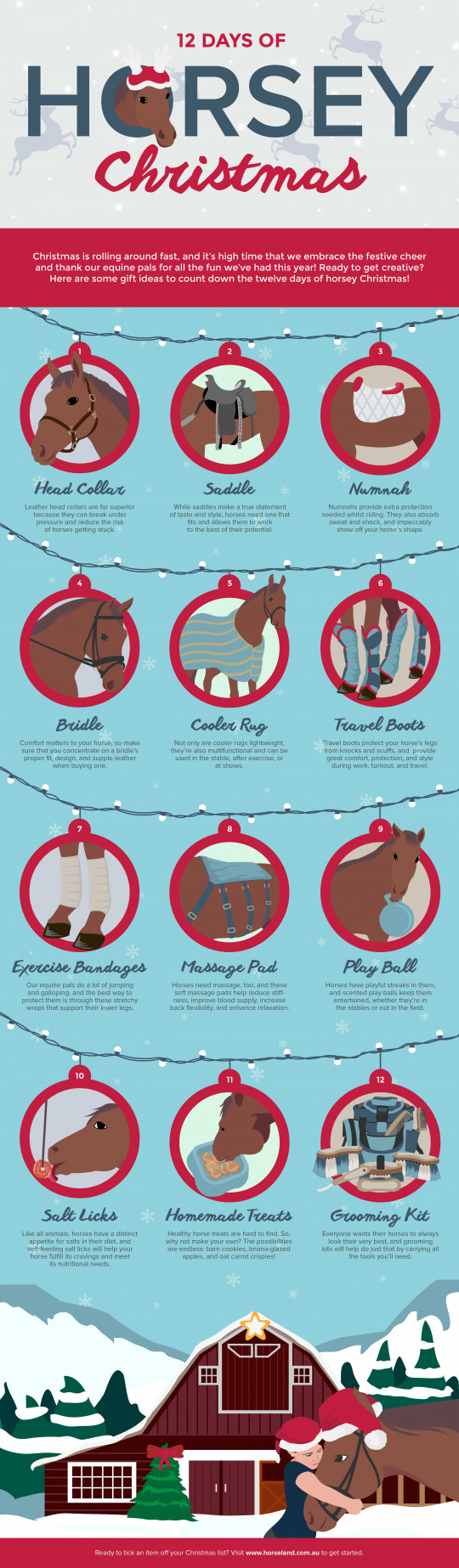 12 Days of Horsey Christmas