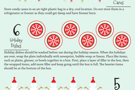 12 Days to a Clutter Free Home Infographic