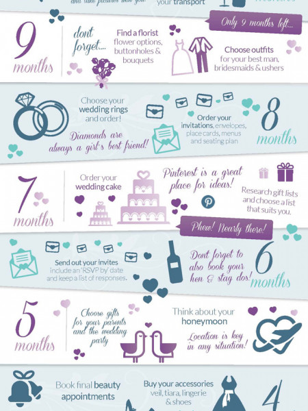 Wedding Planning Infographics  VisualLy