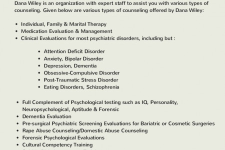 12 types of counseling you need to know about Infographic