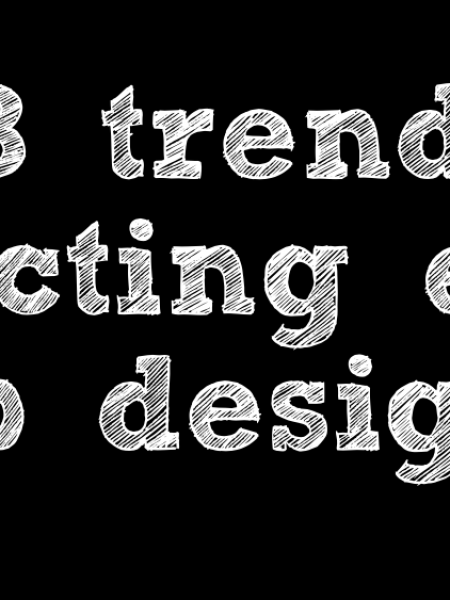 13 Trends Impacting Web Designers Infographic