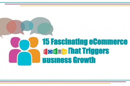 15 Fascinating eCommerce Forums That Triggers Business Growth   Infographic