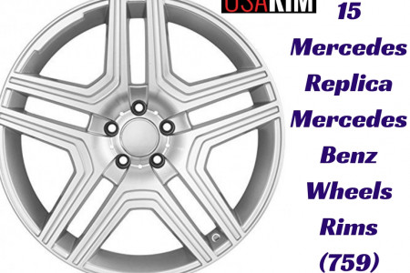15 Mercedes Replica Mercedes Benz Wheels Rims (759) Infographic