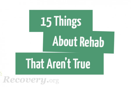 15 Thing About Rehab That Aren't True Infographic