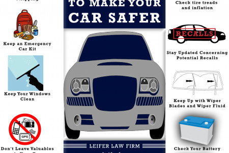 15 Ways to Make Your Car Safer Infographic