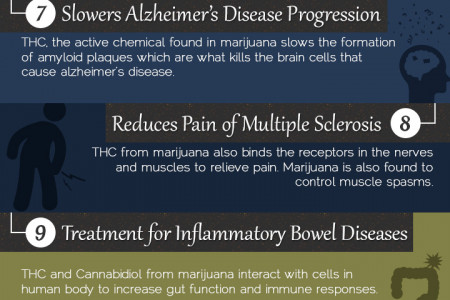 16 Benefits of Marijuana Infographic