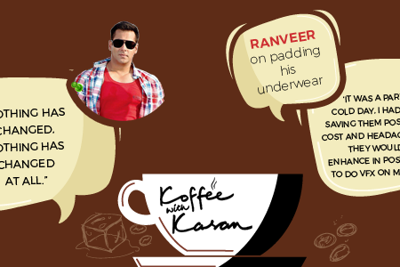 16 Most Interesting Replies by Celebrities on Koffee With Karan Show Infographic