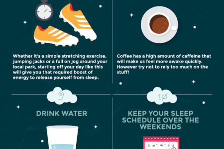 16 Ways to Combat That 'Groggy Morning' Feeling Infographic