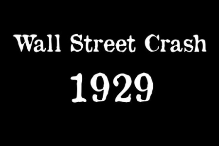 Wall Street Crash 1929 Infographic