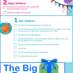 graphic regarding 1st Birthday Party Checklist Printable titled 1st Birthday Get together Creating List Visible.ly