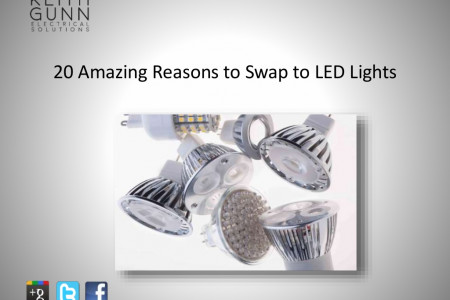 20 Amazing Reasons Why You Should Swap to LED Lights Infographic