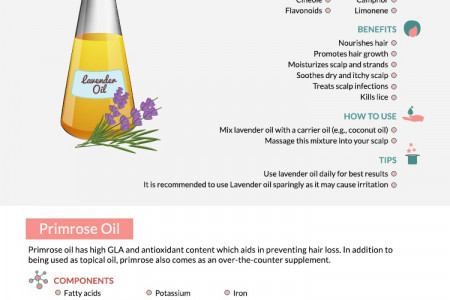 20 Best Hair Oils for Your Perfect Locks Infographic