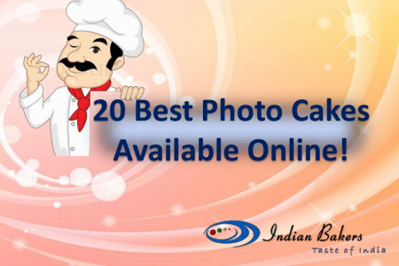 20 Best Photo Cakes Available Online! Infographic
