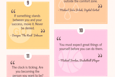 20 Fitness Inspiration Quotes Infographic