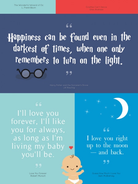 20 Inspiring Childrens Book Quotes Visually