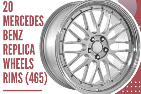 20 Mercedes Benz Replica Wheels Rims (465) Infographic