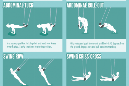 20 Playground Exercises to Achieve a Full-Body Workout Infographic