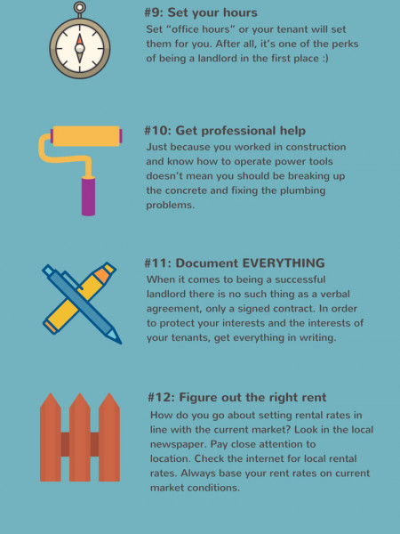 20 Tips To Become A Successful Landlord In 2015 Visual