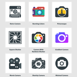 20 Ways To Use Camera Icon In A Photography Logo Visual Ly