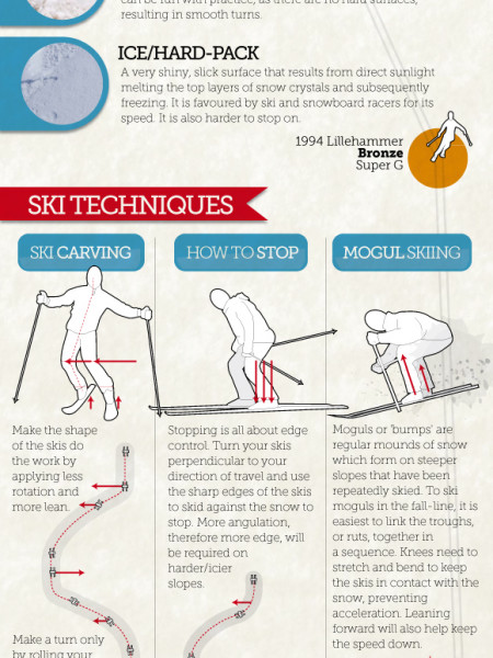 Ski Season Tips & Advice Infographic