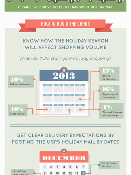 2013 Holiday Shipping Sprees - What You Didn't Know  Infographic