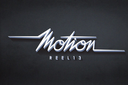 2013 Motion Reel Infographic