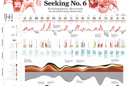 2013 San Francisco 49ers Season History Infographic