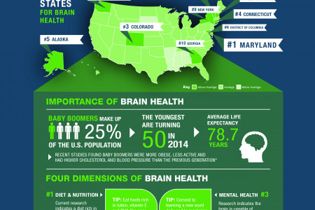 2014 America's Brain Health Index Infographic
