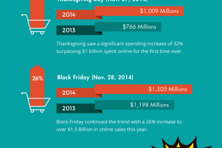 2014 Black Friday Observations Infographic