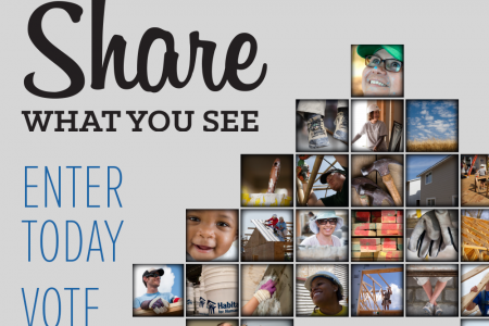 2014 Habitat World Photo Contest Infographic