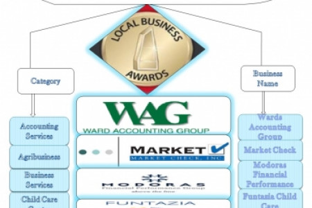 2014 Local Business Awards Winners Infographic