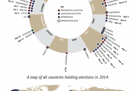2014: Year Of Elections Infographic