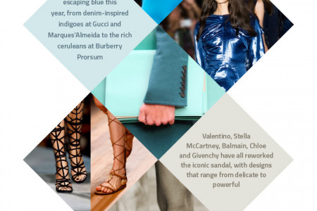 2015 Fashion Forecast Infographic Infographic