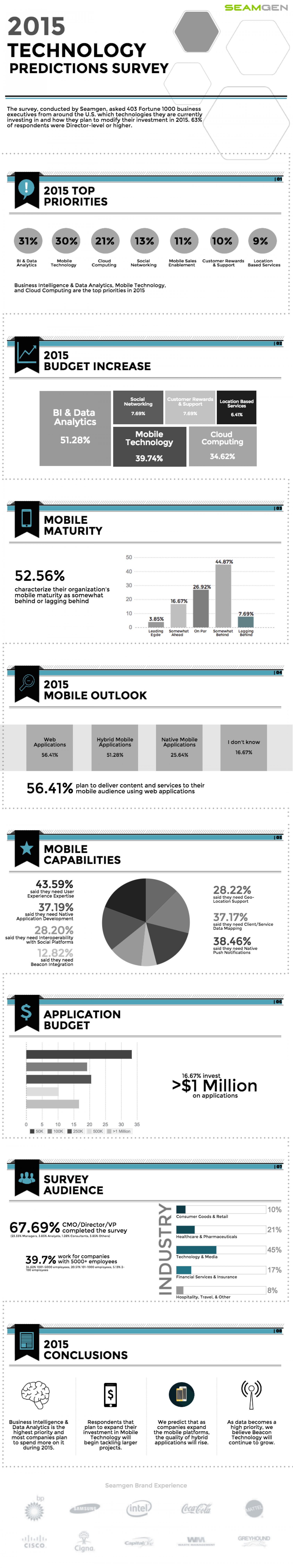 2015 Technology Priorities Infographic Infographic