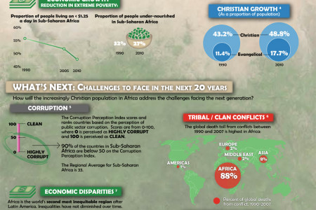 20/20: Progress & Challenges in Africa Infographic
