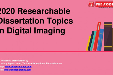 2020 Researchable Dissertation Topics In Digital Imaging -Phdassistance.com Infographic