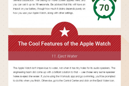 22 Apple Watch Tricks and Tips Infographic