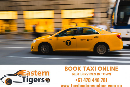 24*7 Taxi Services in Croydon, Melbourne - Eastern Tigers Cabs  Infographic
