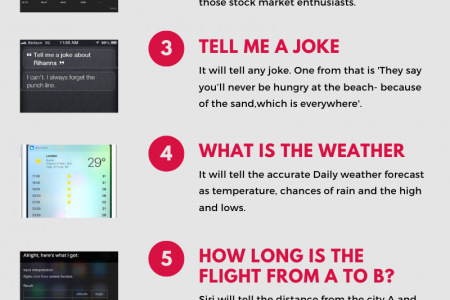 25 Cool Siri Tricks that every iPhone Users Must Know Infographic