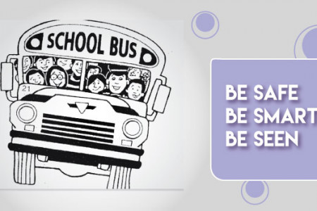 25 School Bus Safety Tips For Kids Infographic